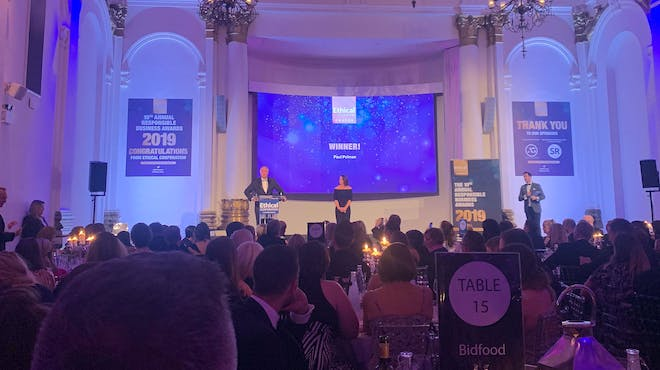 Paul Polman speaks at the Responsible Business Awards 2019