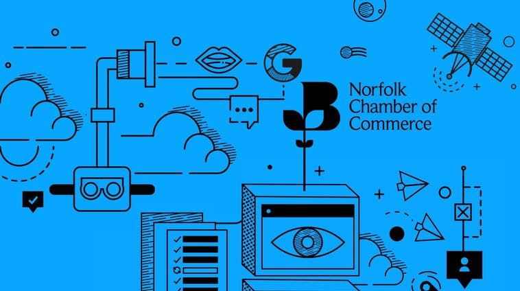 Norfolk chamber of commerce talking tech