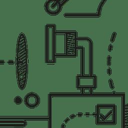 digital marketing strategy illustration